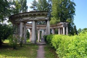 La columnata de Apolo